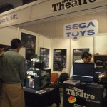 Sega Toys Booth